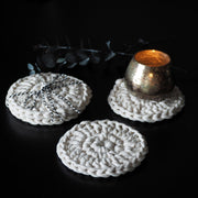 A set of two Coasters - The Knotted Touch UK