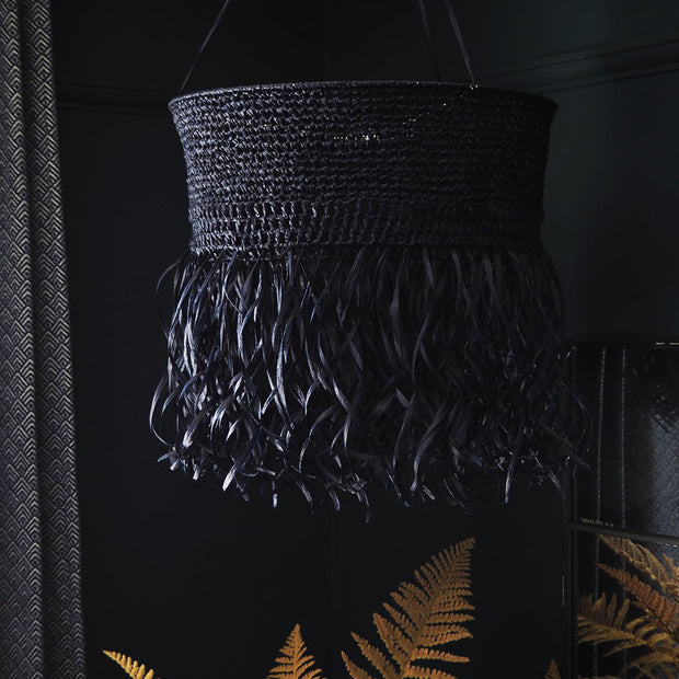 Quirky Boho Light Shade, Dark Blue - Monico