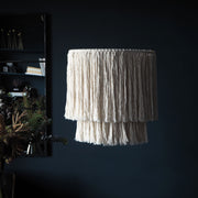 Tassel Boho Lightshade – Simone - Boho Lighting UK