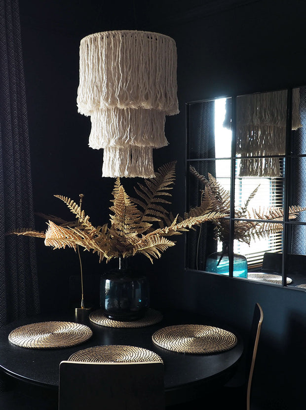 Boho Light Shade Chandelier - Dimono