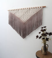 Boho Macrame Wall Hanging – Bolto Brown