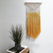 yellow wall hanging - boho wall hangings uk