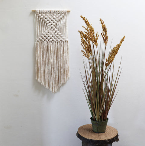 boho macrame wall hanging ombra uk