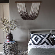 Dip Dyed Wall Hanging – Sando - Brown ombre UK