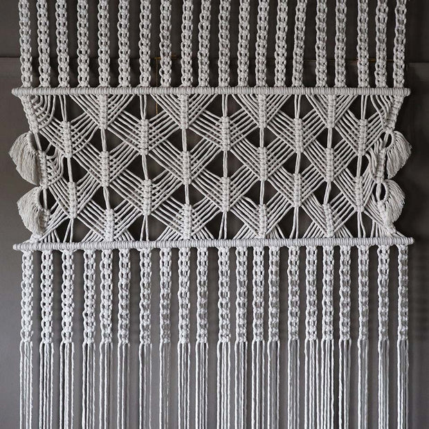 Extra Large Macrame Room Divider/Curtain Lule