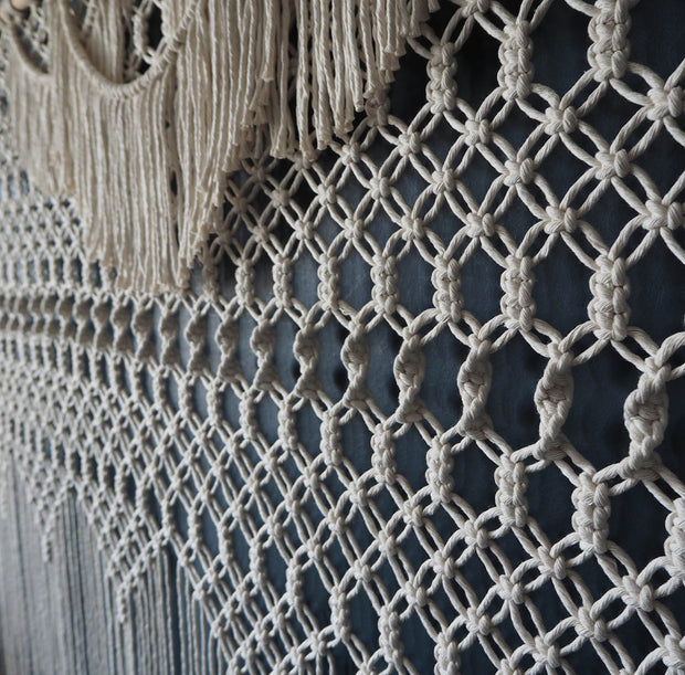Extra Large Giant Macrame Wall Hanging, the knotted touch uk