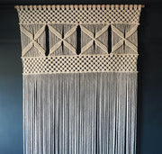 Extra Large Macrame Room Divider/Curtain – Esmera