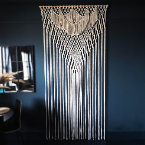 Extra Large Macrame Room Divider/Wall Hanging – Astera