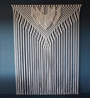 Large Macrame Wall Hanging/Room Divider – Filorina 200x165cm