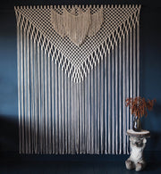 large macrame curtain room divider filorina uk