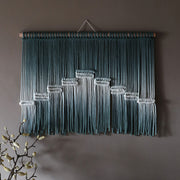 Green Boho Macrame Wall Hanging - Pota UK