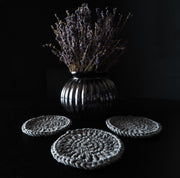 Grey Boho Coasters UK