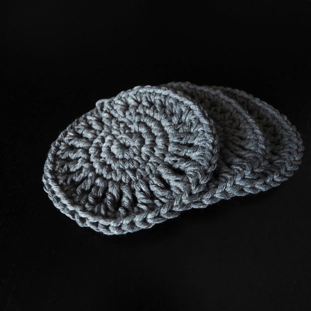 Grey Boho Coasters UK - The Knotted Touch