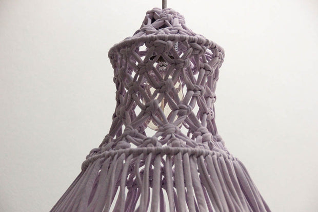 Macrame Pendant Light - Lily