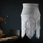 Quirky Boho Lampshade – Crista, Large Long