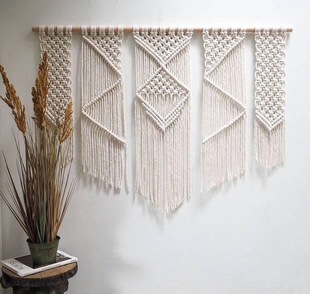 large boho wall hanging presta 120cm