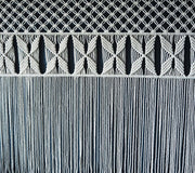 Wide Macrame Curtain/Wall Hanging - Roleta