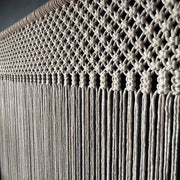 Large Macrame Curtain - Aluno