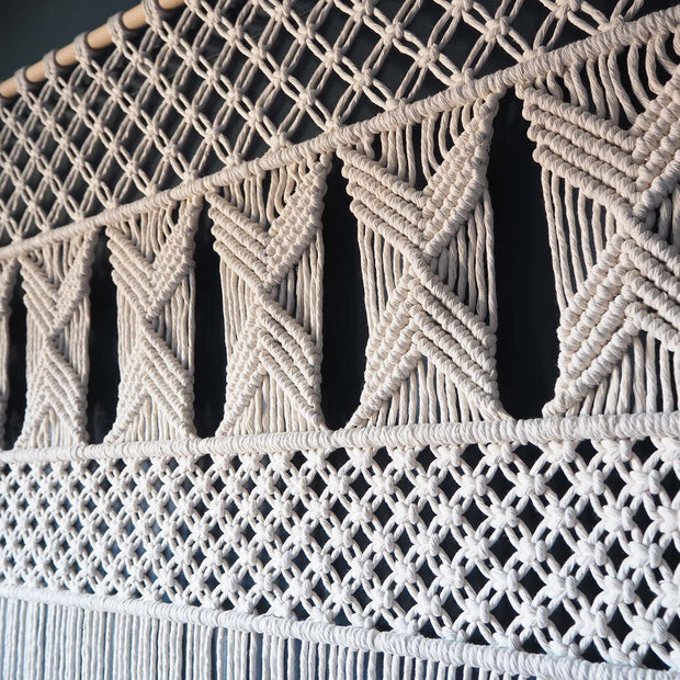 Large Macrame Room Divider/Curtain - Opela