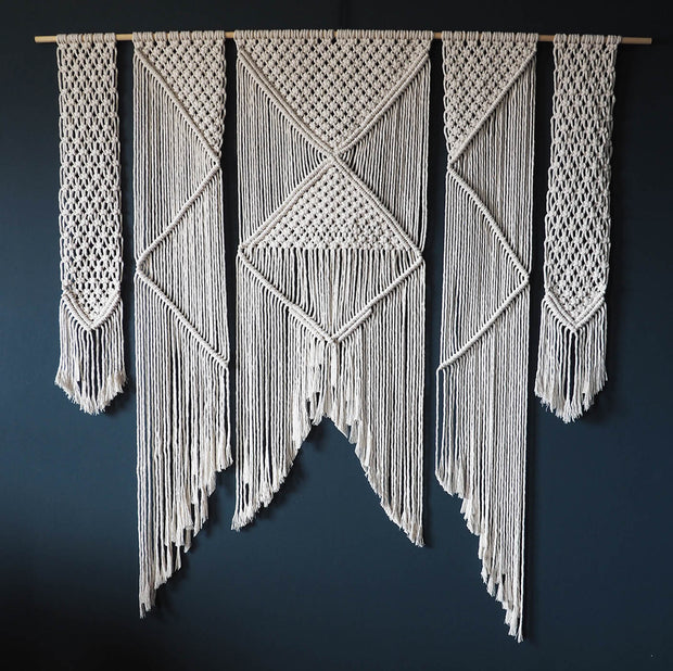 Extra Large Macrame Wall Hanging – Presta 150x150cm