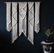 large macrame wall hanging uk - presta