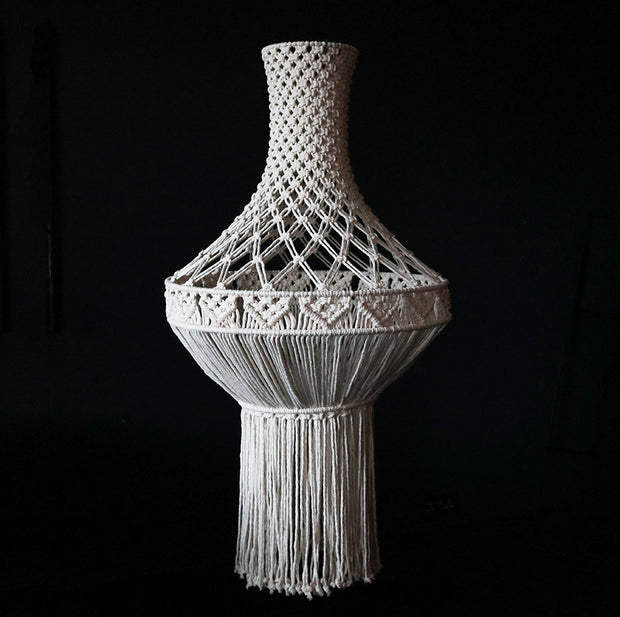 Boho Macrame Chandelier/Light Shade – Lisbona