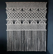 Large Macrame Wall Hanging/Room Divider – Hanso