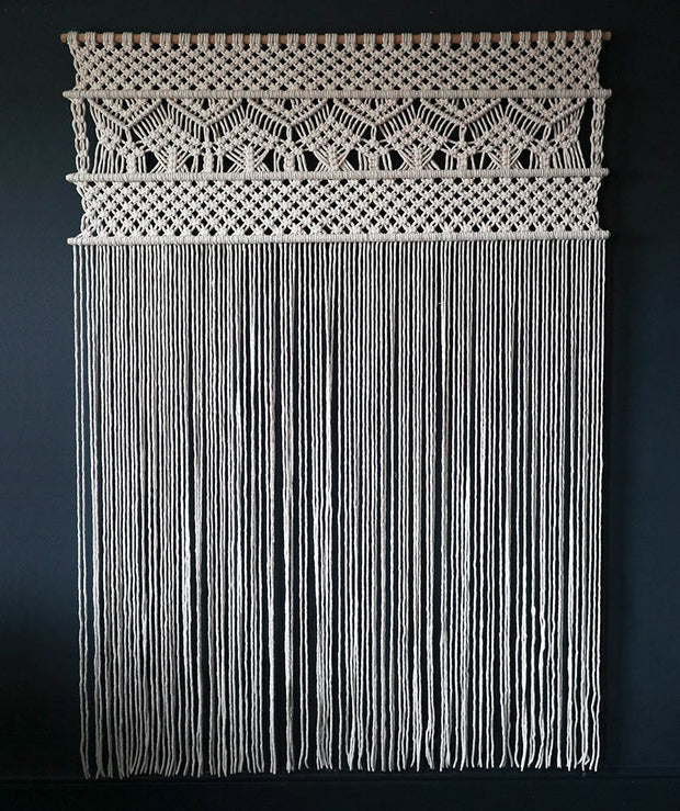 Copy of Large Macrame Wall Hanging/Room Divider – Curtain-Nevia Uk