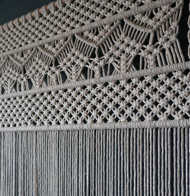 Large Macrame Wall Hanging/Room Divider – Nevia