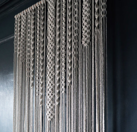 Large Macrame Wall Hanging/Room Divider – Vinolo UK