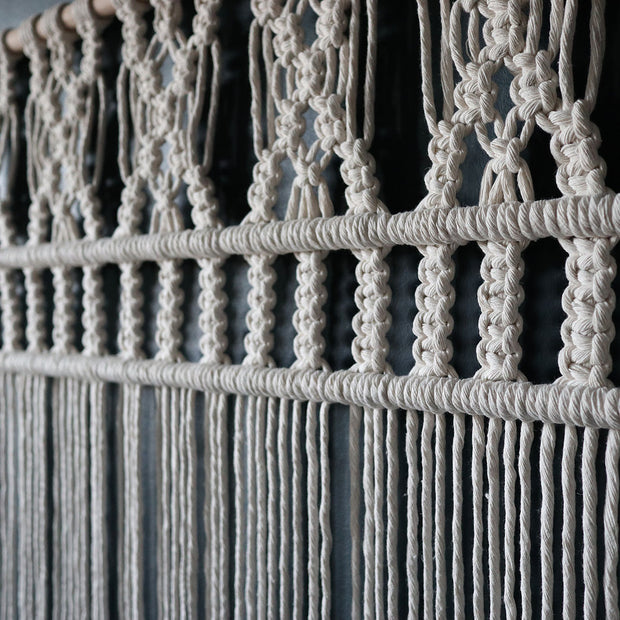 Macrame Curtain/Room Divider
