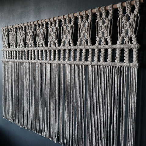 Macrame Curtain/Room Divider UK
