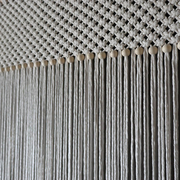 Macrame Curtain/Room Divider - Fresco W90cm