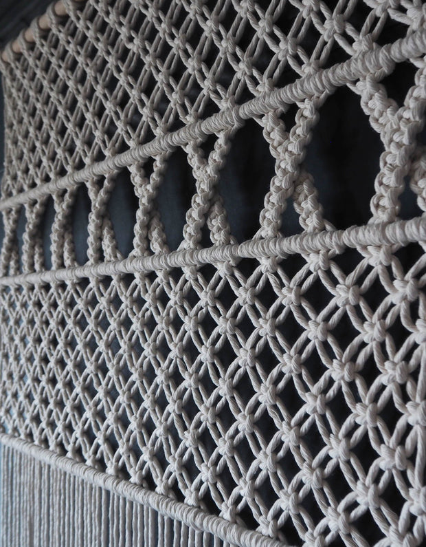 Macrame Curtain/Room Divider - Viola uk