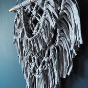 Grey Macrame Wall Hanging - Balis