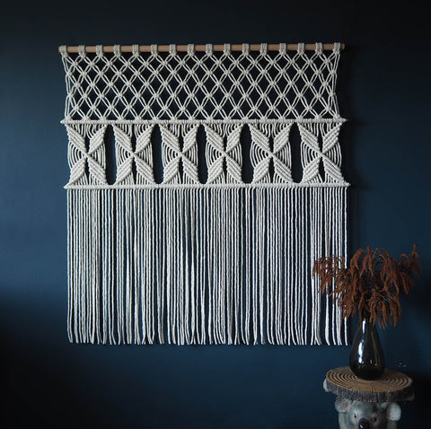 Macrame Curtain/Wall Hanging - Roleta 1200mm