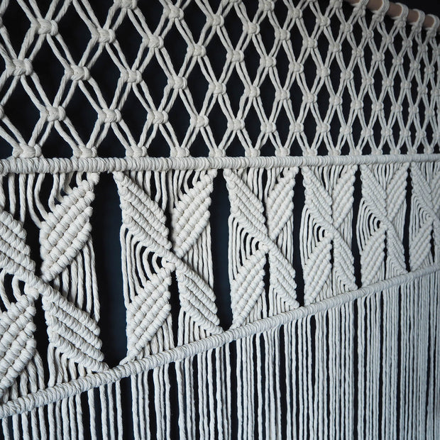 Macrame Curtain Room Divider  - Roleta 1200mm