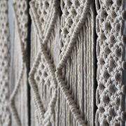 Macrame Wall Hanging, Natural Colour, Presta 70x90cm