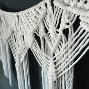White Macrame Wall Hanging – Lorina Long