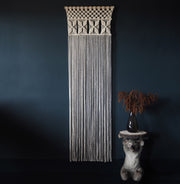 Macrame Wall Hanging/Curtain - Macrame Room Divider - Semila - The Knotted Touch UK