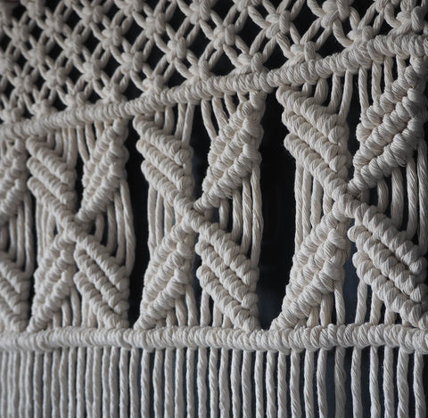 Macrame Wall Hanging/Curtain - Semila