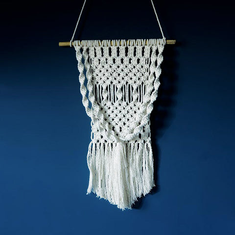 Boho Macrame Wall Hanging – Fall