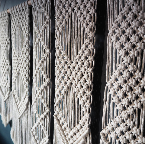 Macrame Wall Hanging UK - Large Oltina 115x100cm