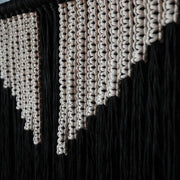Monochrome Macrame Wall Hanging - Tila UK