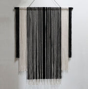 Black and White Monochrome Wall Hanging - Stralo