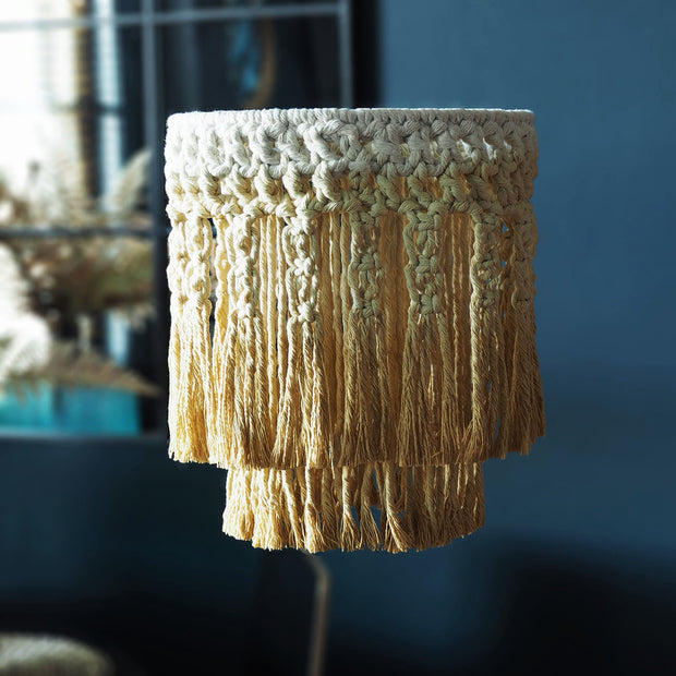 Mustard Boho Light Shade – Sermiona