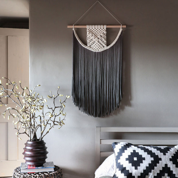 grey ombre wall hanging