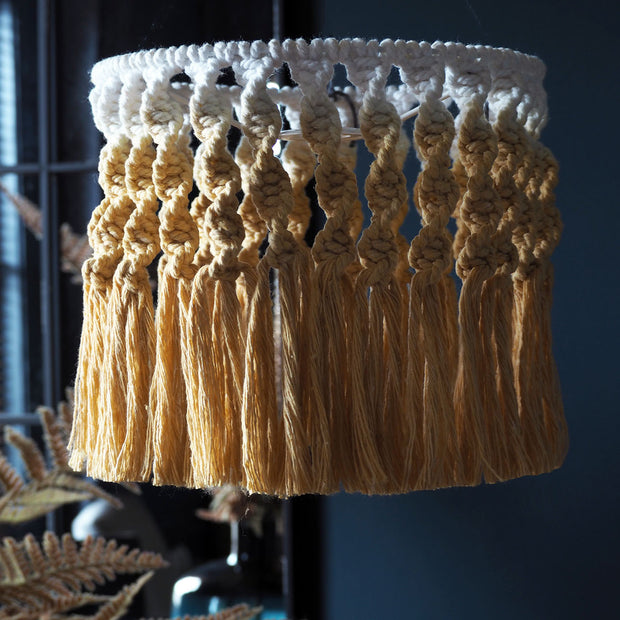 Mustard Yellow Lamp Shade - Serena