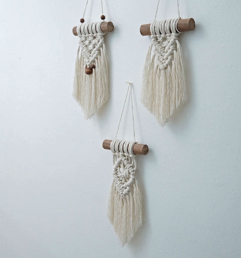 Small Macrame Wall Hanging - Sicilia
