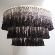 Tassel Light Shade – Salono - Washed Black